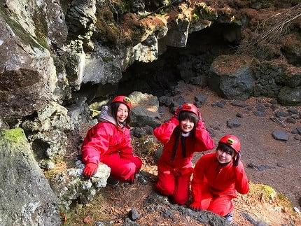 樹海洞窟体験