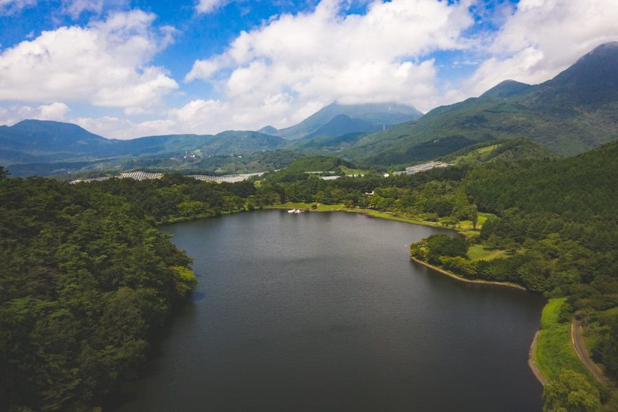 撮影地:志高湖