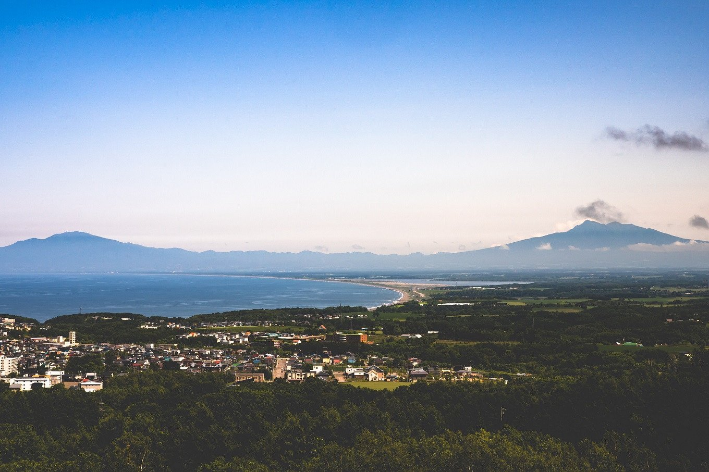 撮影地:天都山展望台