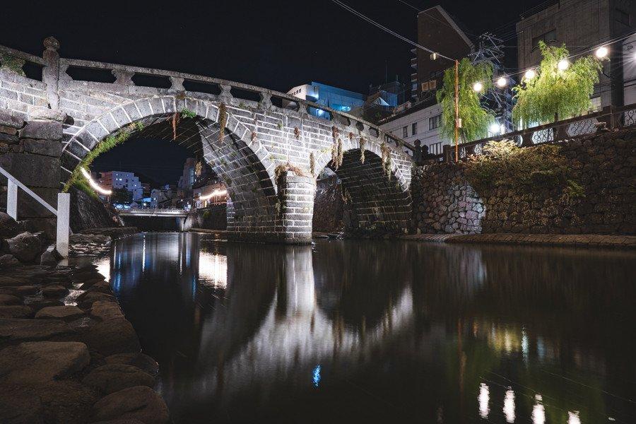 撮影地:眼鏡橋