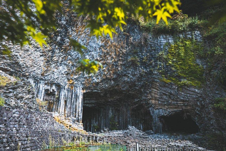 撮影地:玄武洞