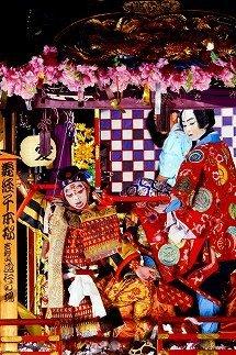 4.加悦谷祭 子供歌舞伎