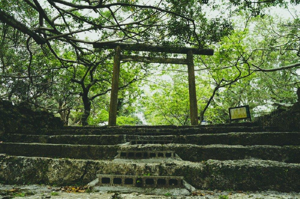 撮影地:南山城跡
