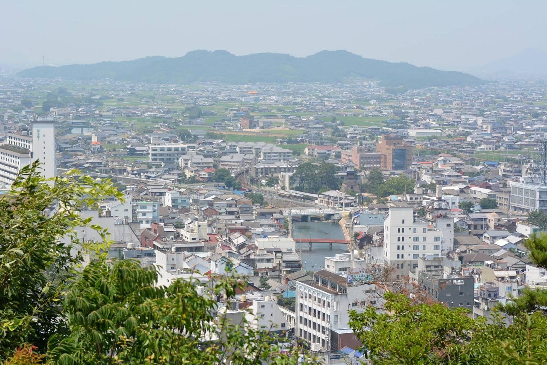 琴平町の風景