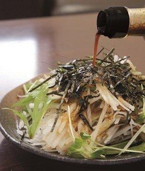 和風醤油ドレッシング+サラダ
