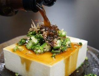 ぽん酢+豆腐