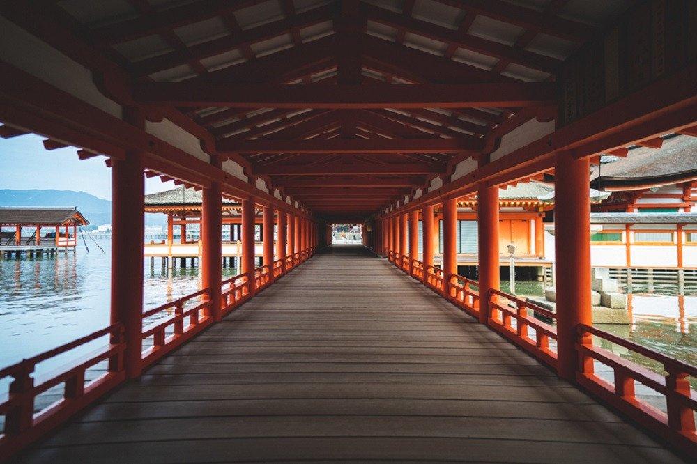 撮影地:嚴島神社