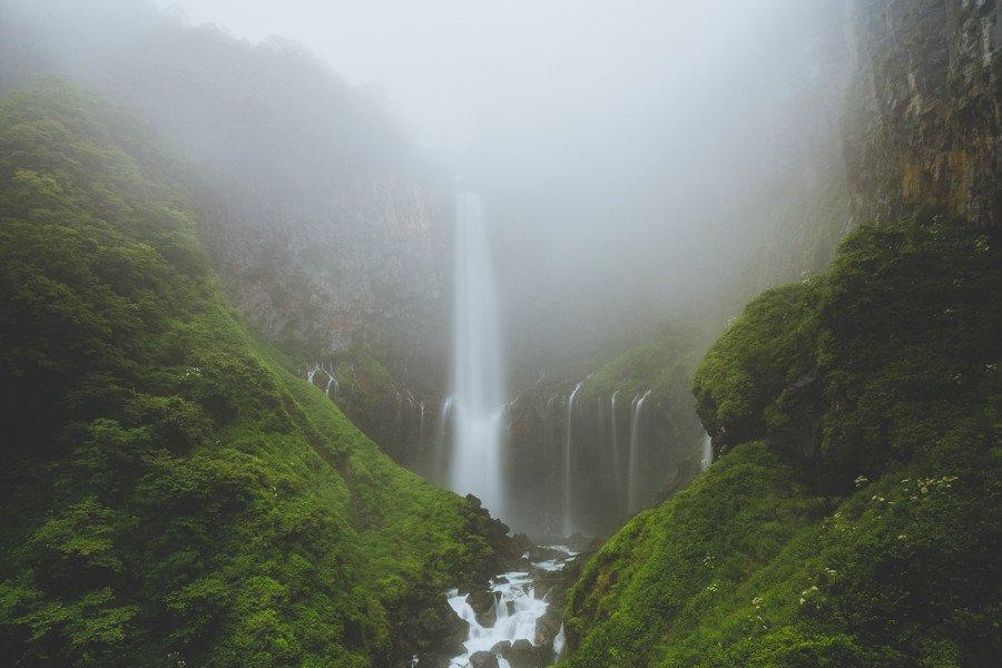 撮影地:華厳の滝