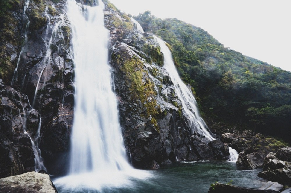 撮影地:大川の滝