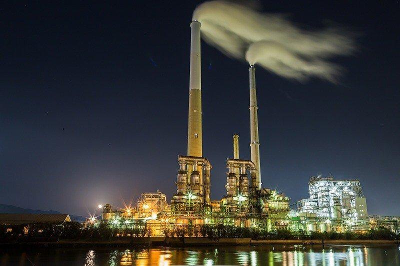 ~ロマンチックな工場夜景~