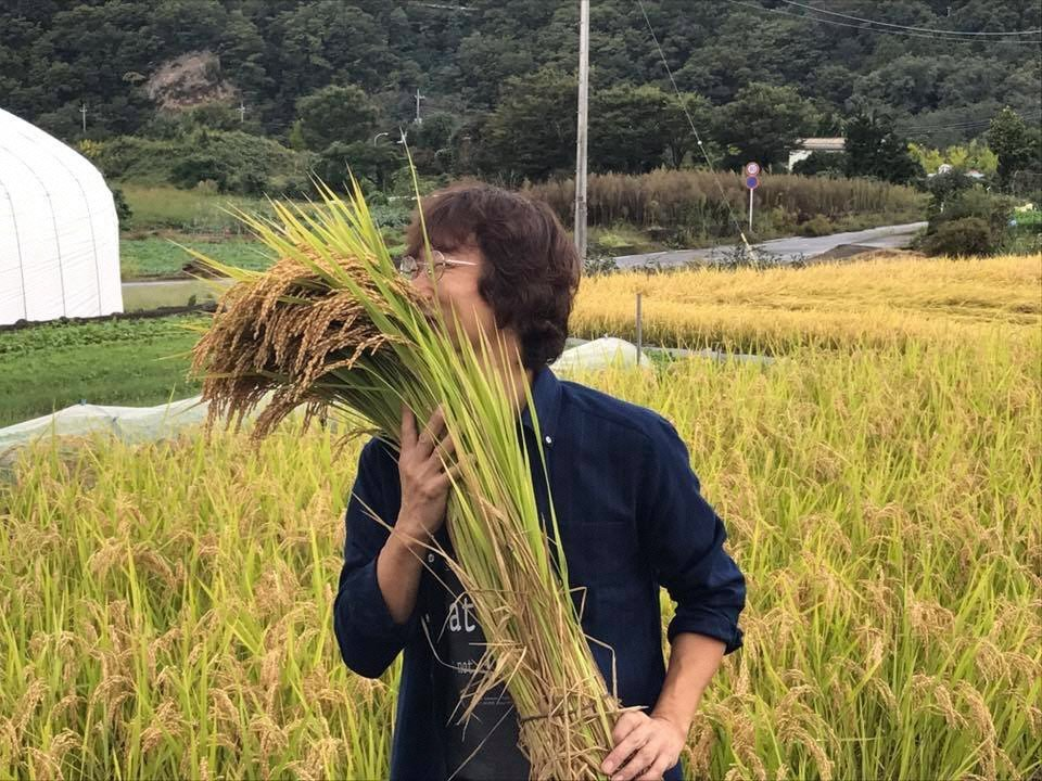 米に情熱と愛情を込めて