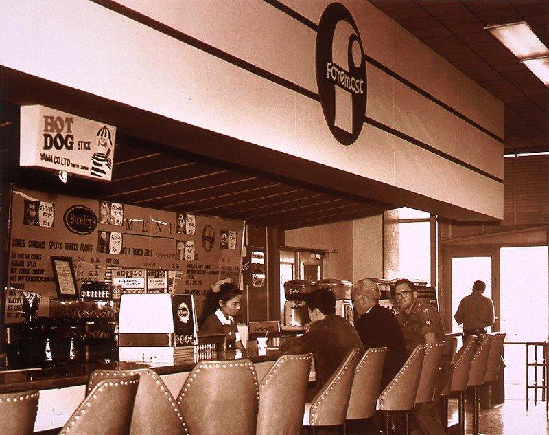 1960年代店内