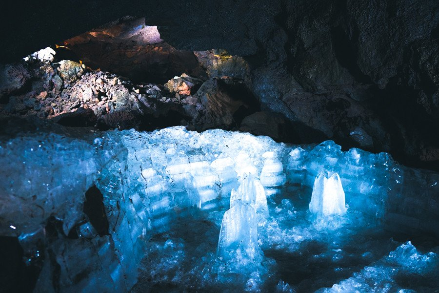 富士山の洞窟 天然記念物 富岳風穴