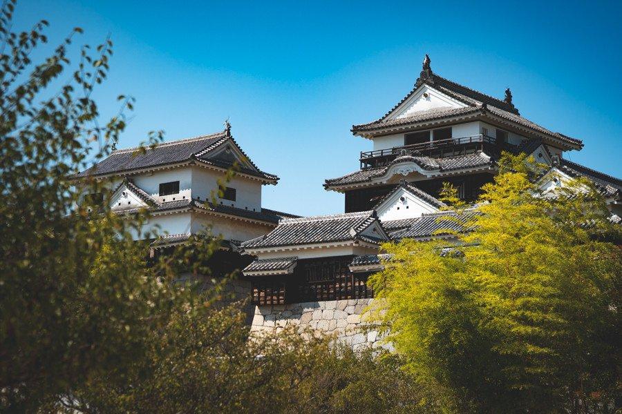 撮影地:松山城