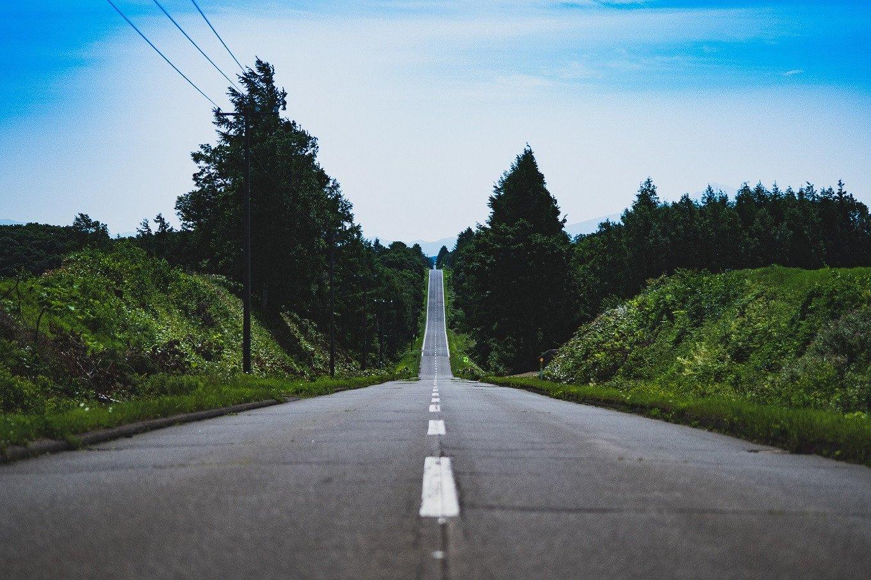 撮影地:天に続く道