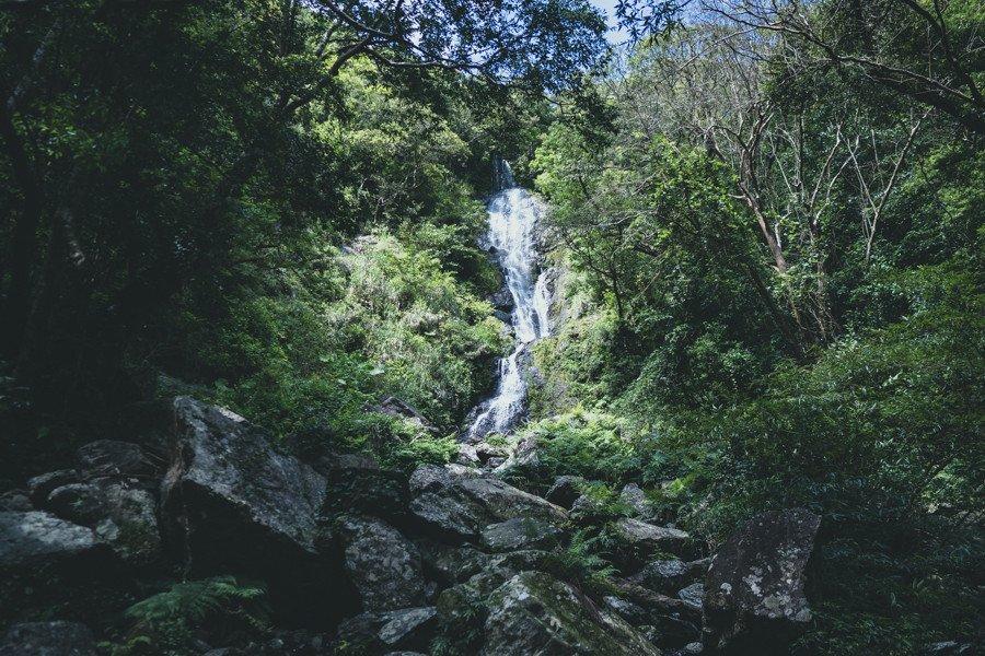 撮影地:フナンギョの滝