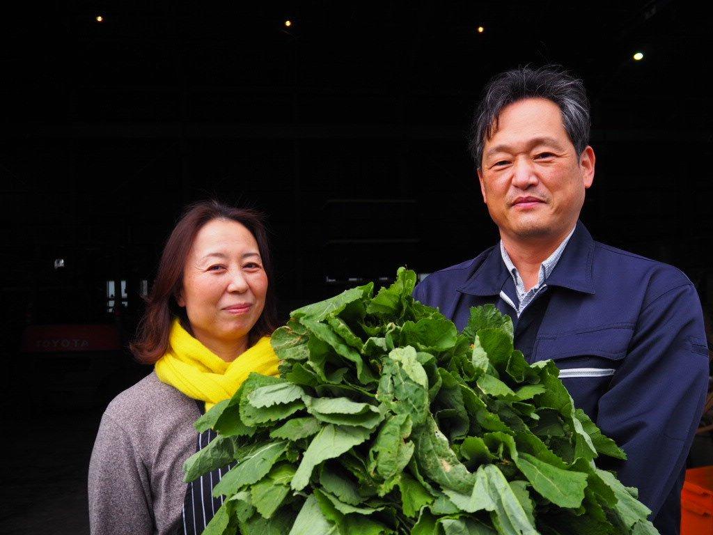 菊池食品の菊池社長夫妻