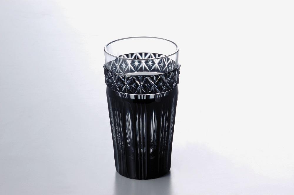 ★数量限定★薩摩黒切子ビアグラス