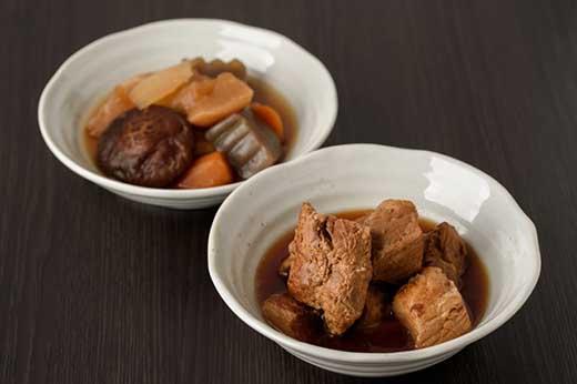島安納黒豚もも肉角煮・野菜煮セット