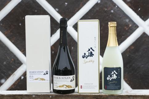 八海山発泡にごり酒と「あわ」お試しセット(各1本)