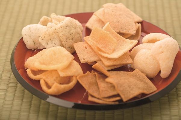 柔らか食感のおかき【かきもちキューブ】12種の詰め合わせギフト箱×10セット