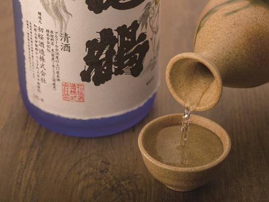 お喜びのご進物にご自分へのご褒美に 純米大吟醸亀鶴1.8Lギフト