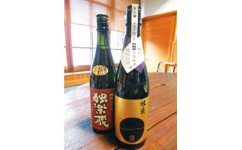 九州初の純米蔵が、糸島産山田錦を使って丁寧に造り上げた日本酒「杜の蔵&独楽蔵」1800mlセット