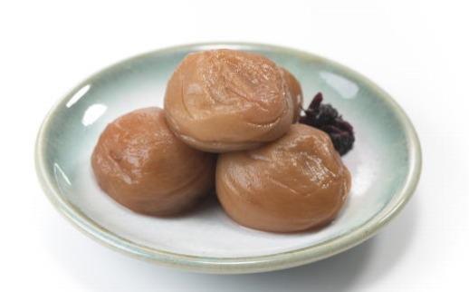 紀州南高梅使用 はちみつうす塩味完熟梅干し 800g