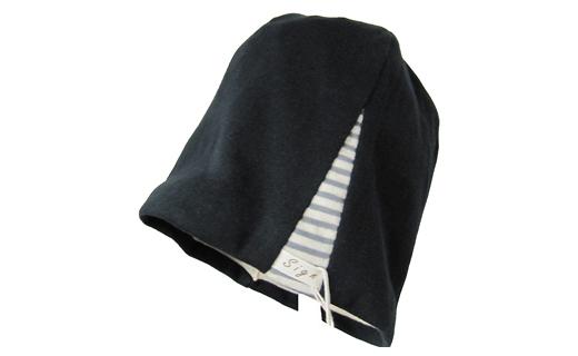 室内用帽子オーガニックコットンエココンビシャロット