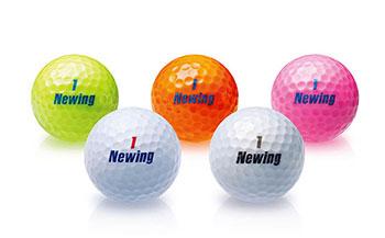 ブリヂストンゴルフボール(NEWINGsupersoftfeel・3ダース・ホワイト)