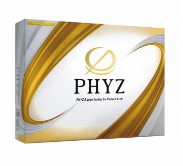 ブリヂストンゴルフボール(PHYZ5・2ダース・パールホワイト)