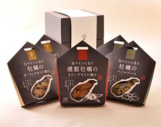 広島牡蠣のオイル漬け5点セット