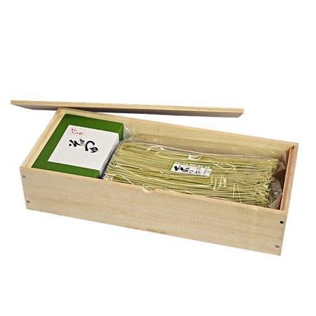 京都宇治抹茶そば(木箱入り)
