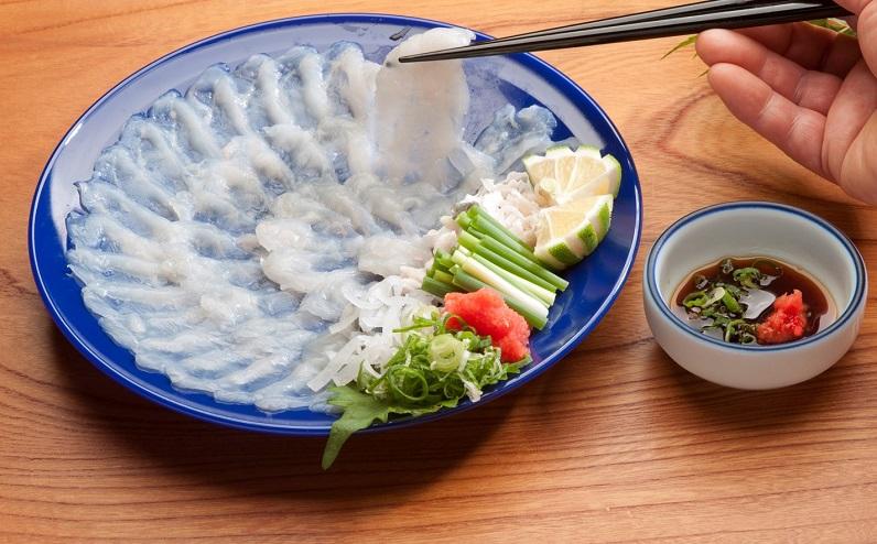 【関東エリア限定!翌日お届けいたします。】新鮮ふぐ料理店直送 「豊後活とらふぐセット 養殖2~3人前」