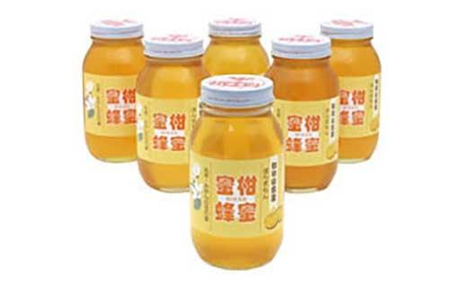★2021年度新蜜★ほんまもん蜜柑(みかん)蜂蜜1200g×6本