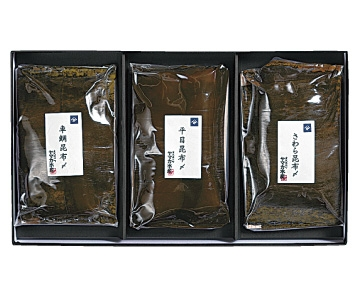 金沢大和百貨店選定〈ヤマカ水産〉昆布〆詰合せ