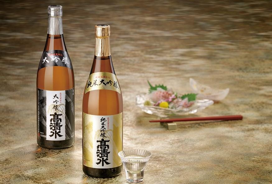 【ふるさと納税】伝統の技を尽くしたこだわりの高清水純米大吟醸・大吟醸セット720ml×2本