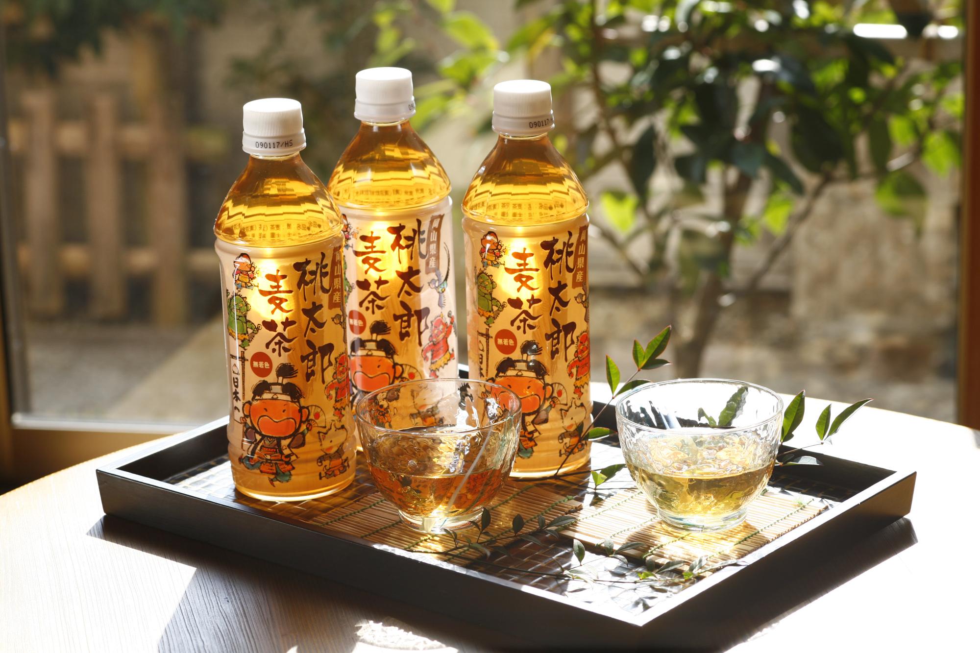 BU02 桃太郎麦茶500ml×24本