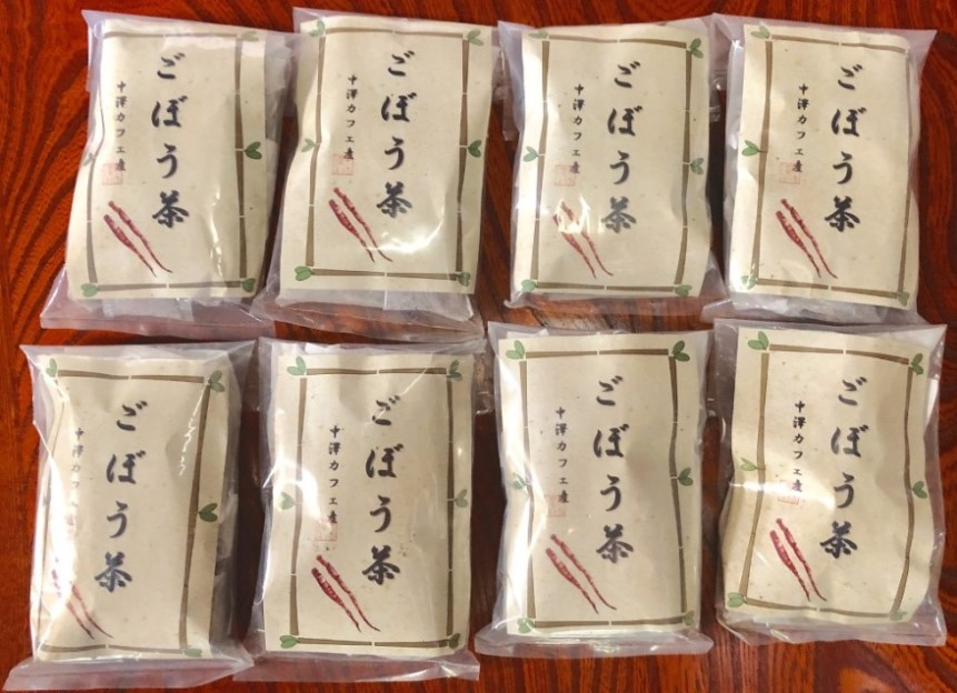 伊勢崎市境産ごぼう茶 30g 8袋