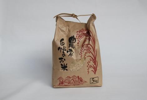 <令和元年新米>【数量限定】減農薬で作った夢つくし5kg(玄米)