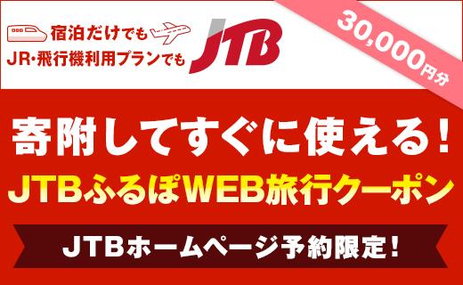【大阪府豊中市】JTBふるぽWEB旅行クーポン(30,000円分)
