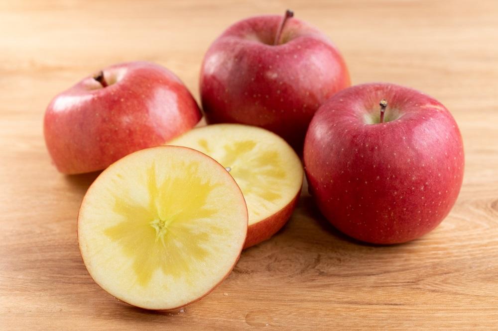 「2021年度先行受付!」 絶品の味!幻の蜜入り高徳りんご約3kg