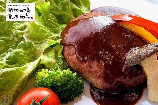 【地元ブランド】漢方和牛入りデミソースハンバーグ