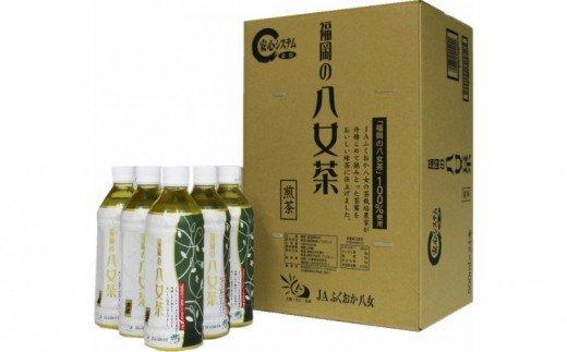 八女茶煎茶ペットボトル500ml×24本