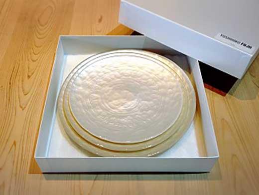 ロイヤルプレート パールホワイト(3枚セット)