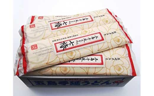 【ギフト用】【国産原料100%の拘り麺】五島手延うどんセットMM-21