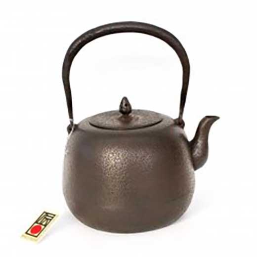 伝統的工芸品 南部鉄器 鉄瓶棗型肌 1.6L