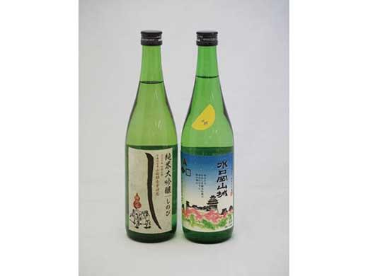 清酒純米大吟醸しのび720ml・水口岡山城720ml