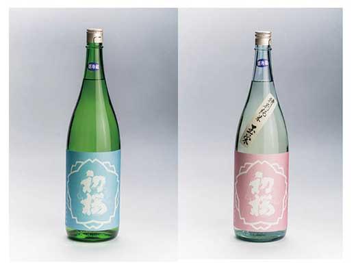 地酒「初桜」特別純米酒〈玉栄生原酒〉・純米酒〈みずかがみ生原酒〉720ml2本セット
