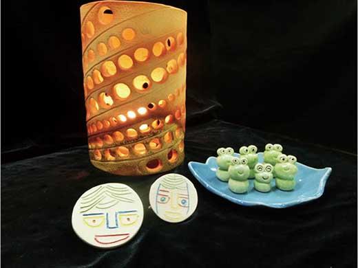 ~世界に一つだけの手作り品~信楽焼・陶器3点セット